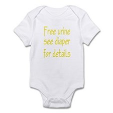 Free Urine Infant Bodysuit
