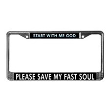 MAYAN PRAYER License Plate Frame