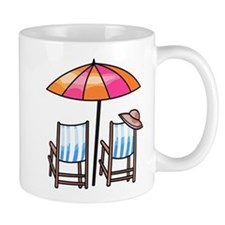 Umbrella and Chairs Coffee Mug