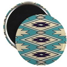Native Chieftain Pattern Magnet