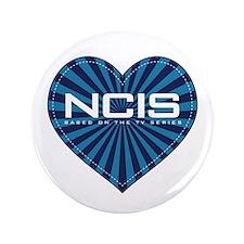 """NCIS Heart 3.5"""" Button"""