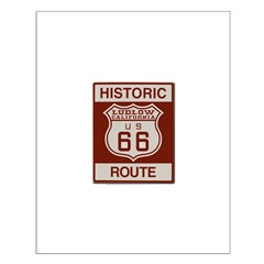 Ludlow Route 66 Small Poster