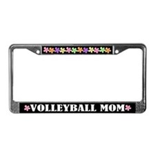 Volleyball Mom License Plate Frame