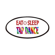 Eat Sleep Tap Dance Patches