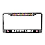 Ballet Mom License Plate Frame