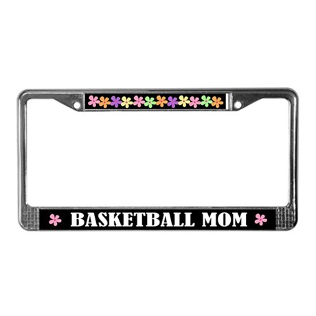 Basketball Mom License Plate Frame
