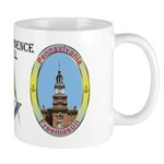 Pennsylvania Mason - Independence Hall Mug