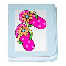 Flip Flops baby blanket