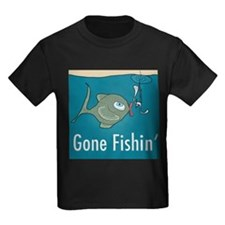 Gone Fishin, Funny Fishing T