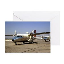 Historic Airplanes Greeting Card