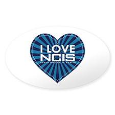 I Love NCIS Decal