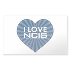 I Love NCIS Decal