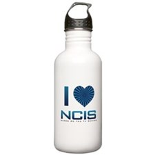 I Heart NCIS Water Bottle