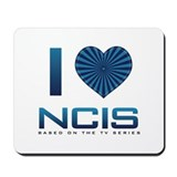 I Heart NCIS Mousepad