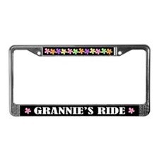Grannie License Plate Frame