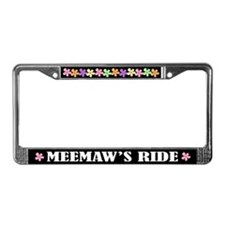 MeeMaw License Plate Frame