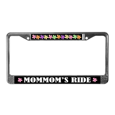 MomMom License Plate Frame