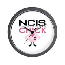 NCIS Chick Wall Clock