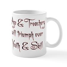 Age Treachery Small Mug