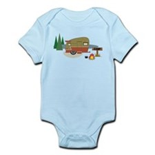Camping Trailer Infant Bodysuit