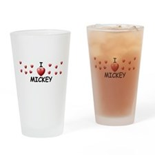Cute Mickeys Drinking Glass