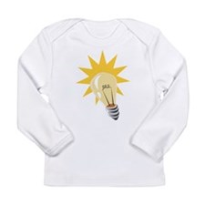 Light Bulb Long Sleeve Infant T-Shirt