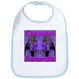 Cleopatra Reincarnated Blue Diamond Carpet Bib