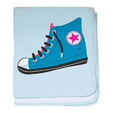Athletic Shoe baby blanket