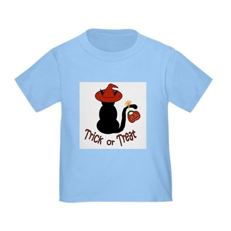 Halloween Cat in the Hat Toddler T-Shirt