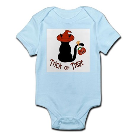 Halloween Cat in the Hat Infant Bodysuit