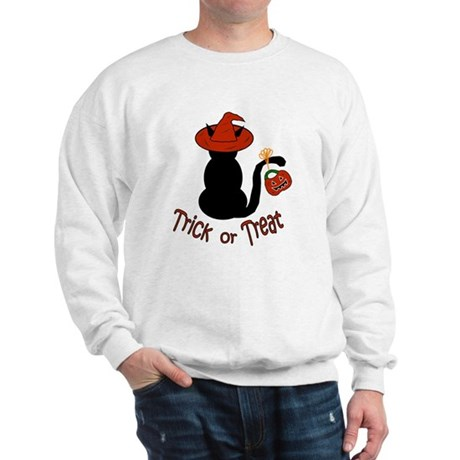 Halloween Cat in the Hat Sweatshirt