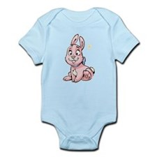 Pink Bunny Infant Bodysuit