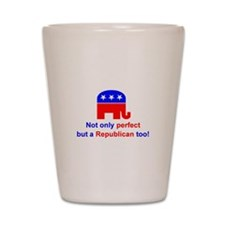 Funny 2008 election Shot Glass