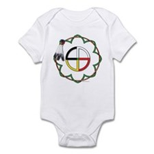 Four Directions Symbol Infant Bodysuit