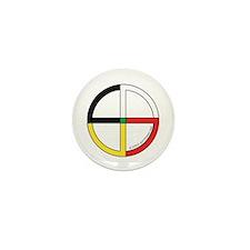 Four Directions Symbol Mini Button (100 pack)