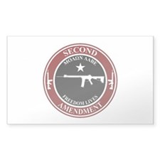 2A Burgundy/White Decal