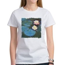 Claude Monet Waterlilies Tee