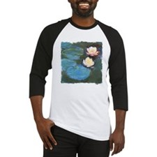 Claude Monet Waterlilies Baseball Jersey