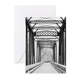 Cool Rails to trails Greeting Cards (Pk of 10)