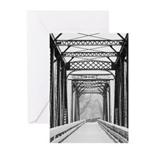Cute Trail photo Greeting Cards (Pk of 10)