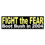 Fight the Fear Bumper Sticker