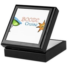 Booze Cruise Keepsake Box