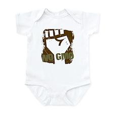 NO GMO Fist Infant Bodysuit