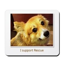I Support Rescue Mousepad