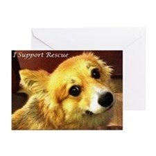 I Support Rescue Greeting Cards (Pk of 20)