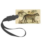 Ocelot Large Luggage Tag