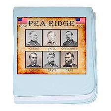 Pea Ridge - Union baby blanket