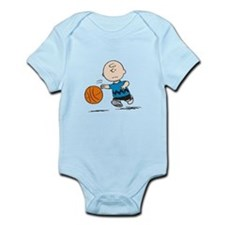Basketballer Brown Infant Bodysuit