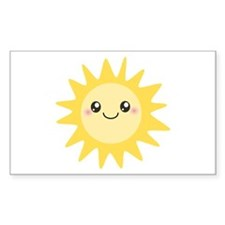 Cute happy sun Decal