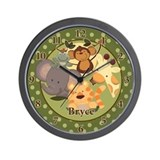 Jungle Safari Bryce Wall Clock